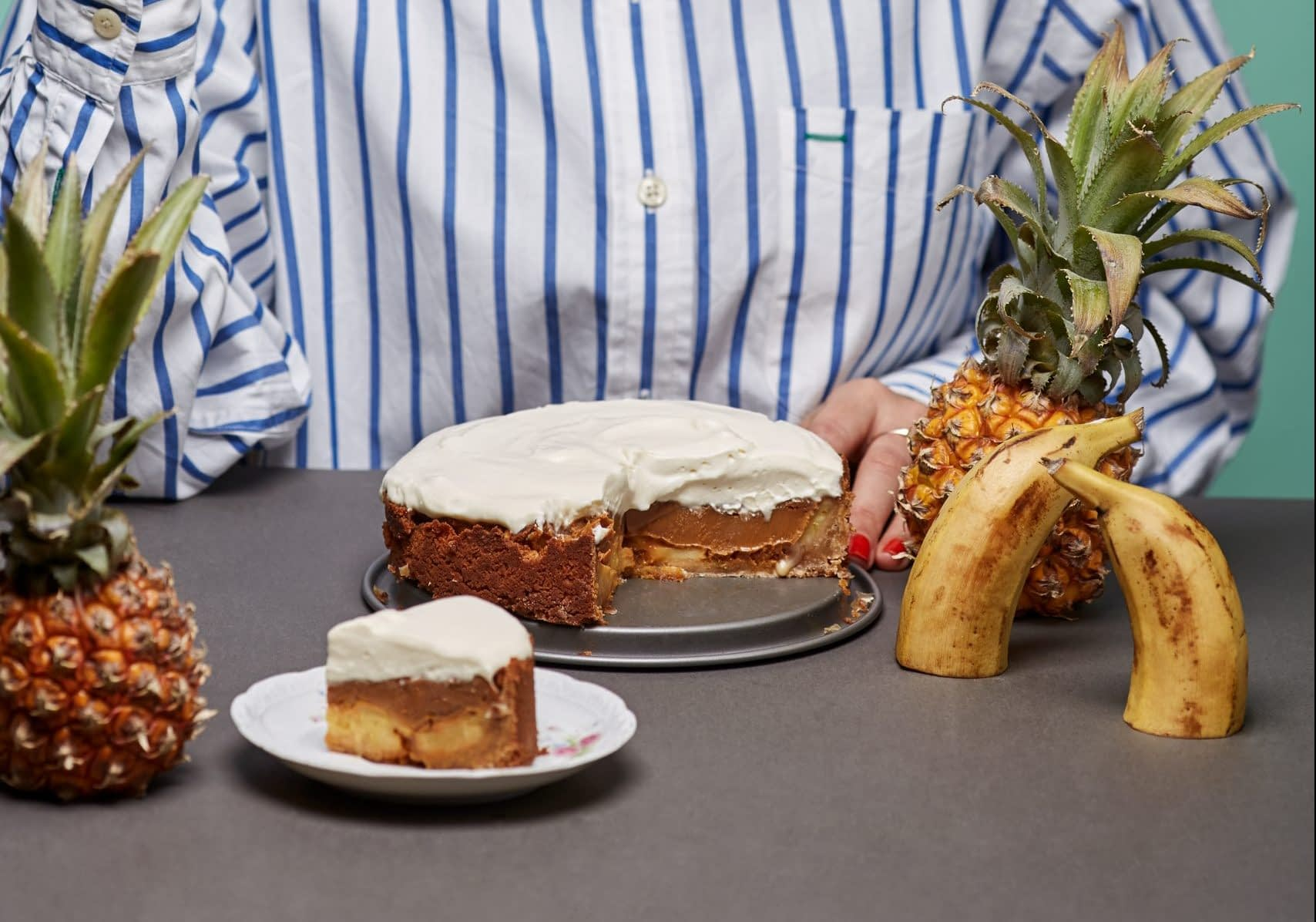 Banoffee saldais pīrāgs