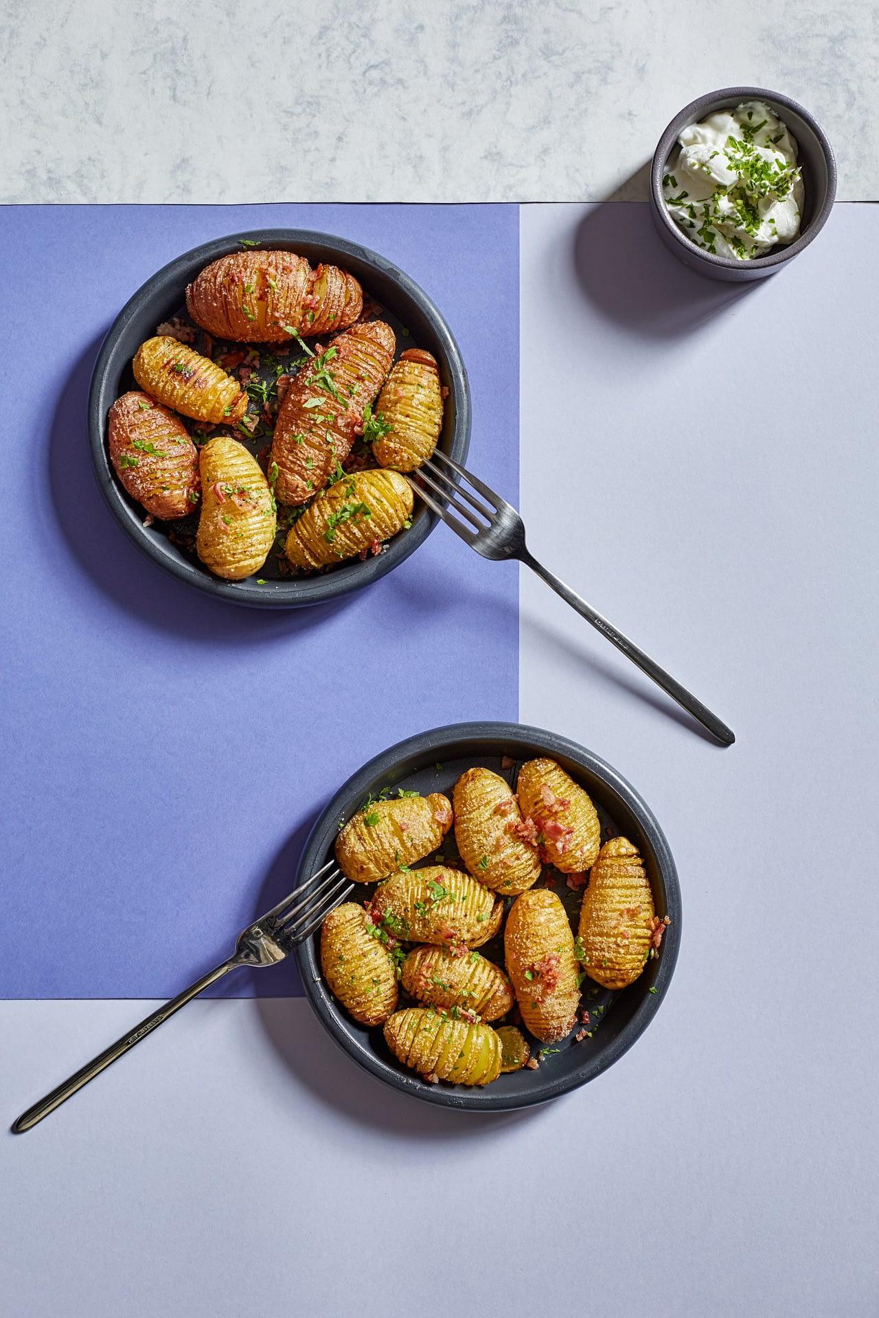 Hasselback kartupeļi